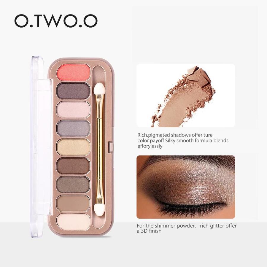 Palette Oogschaduw Make-Up Set 9 kleuren - Color 03-4
