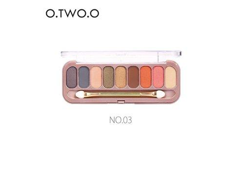 Palette Oogschaduw Make-Up Set 9 kleuren - Color 03