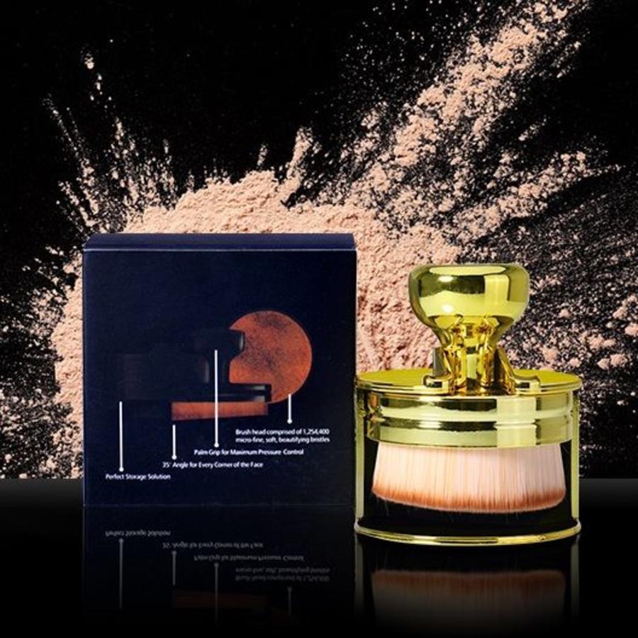 Perfecting Brush Penseel - Powder Brush - Geel / Goud-4