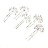 thumb-Hairpins – Parelmoer kleurige Parels - 2 stuks-6