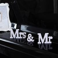 thumb-Mr & Mrs Letters - Bruiloft Decoratie-3