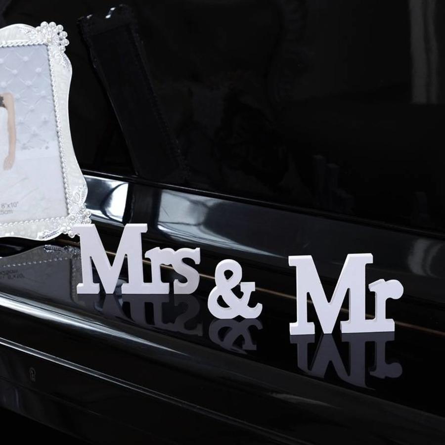 Mr & Mrs Letters - Bruiloft Decoratie-3