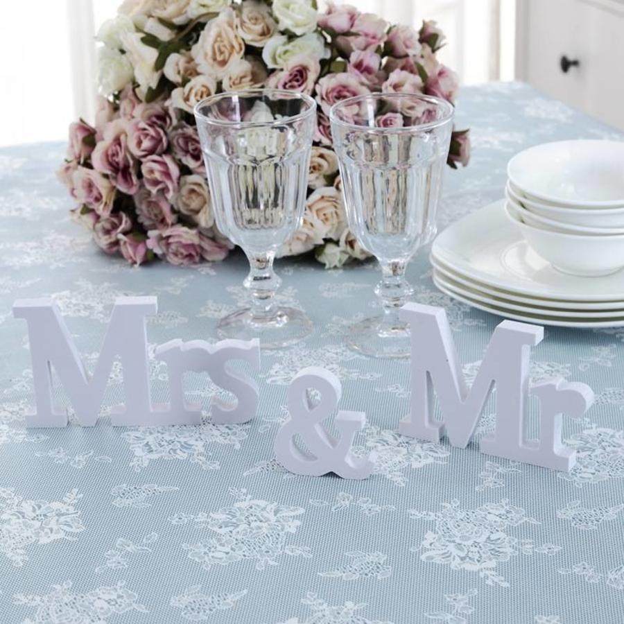 Mr & Mrs Letters - Bruiloft Decoratie-4