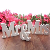 thumb-Mr & Mrs Letters - Bruiloft Decoratie-5