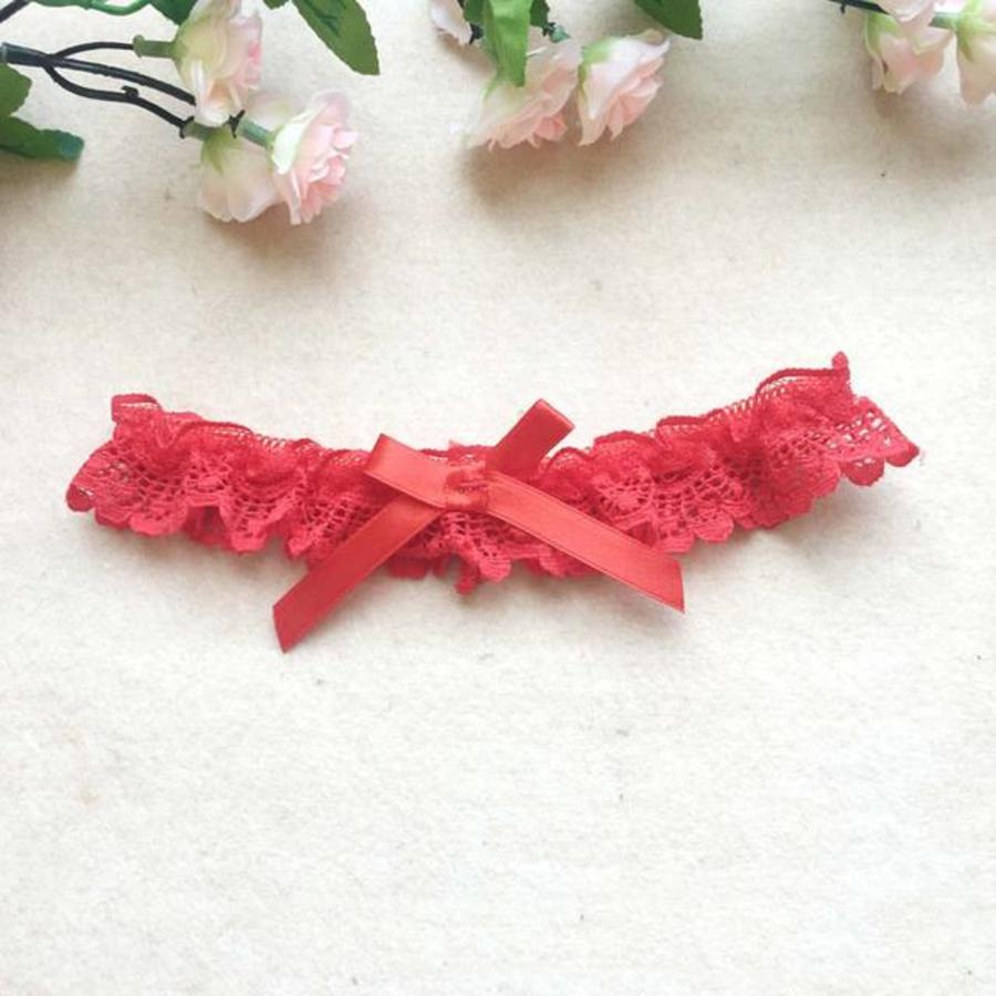 Kousenband - Rood-1