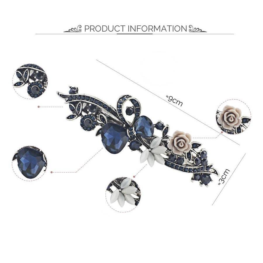 PaCaZa - Geweldige Haarclip - Blauw-4