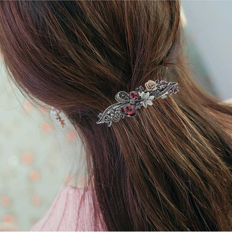 Geweldige Haarclip - Oud Roze-3