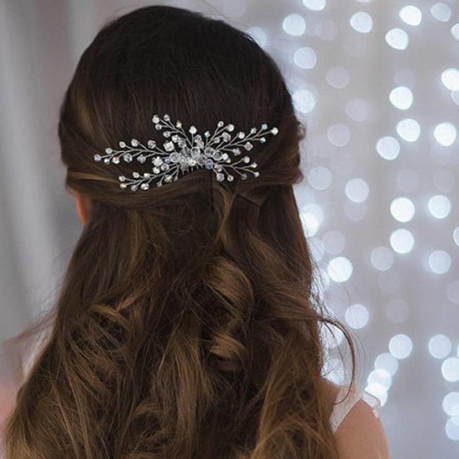 Hairpin met Kristal Kralen-2
