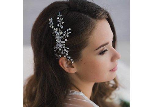 Hairpin met Kristal Kralen