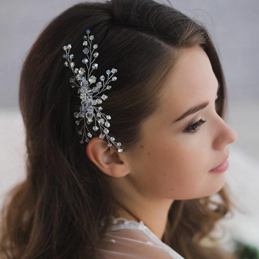 Hairpin met Kristal Kralen-1
