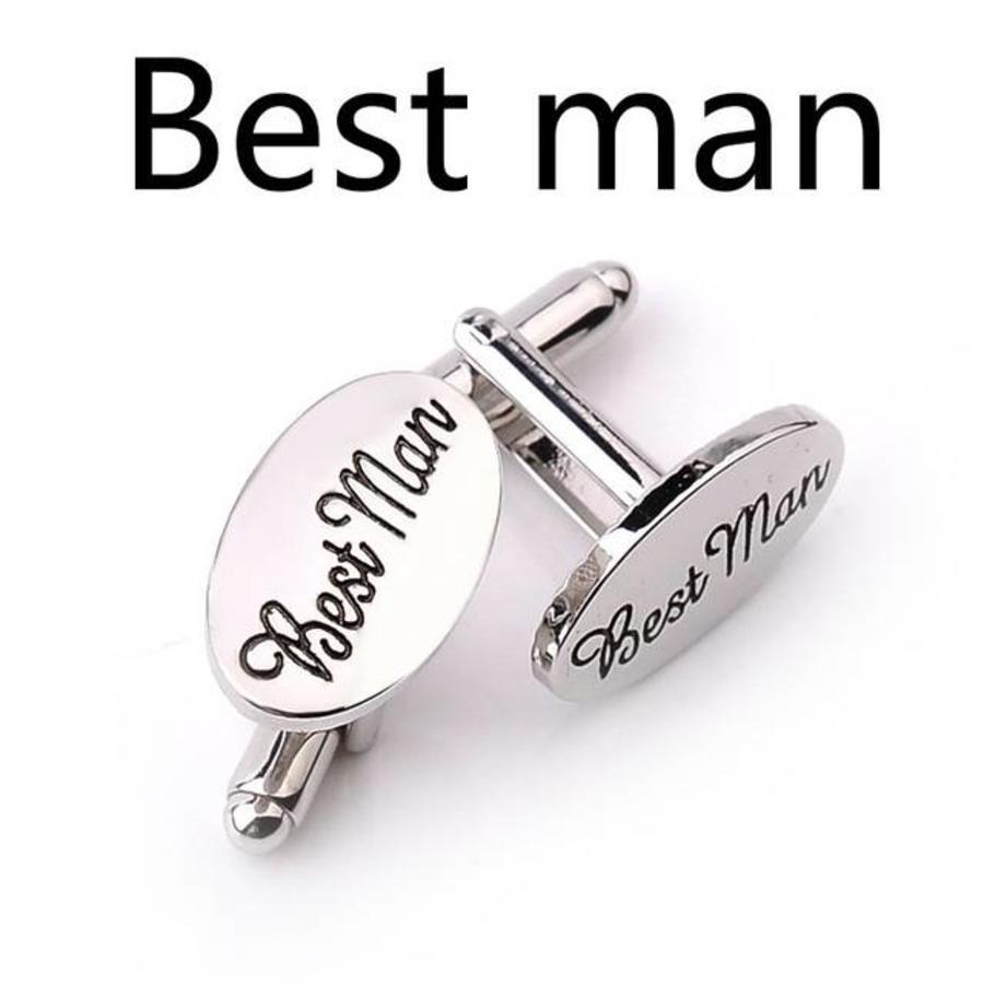 Manchetknopen in Geschenkdoos /  Getuige - Best Man-6