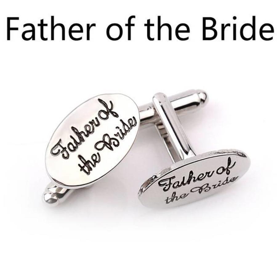Manchetknopen in Geschenkdoos /  Father of the Bride-6