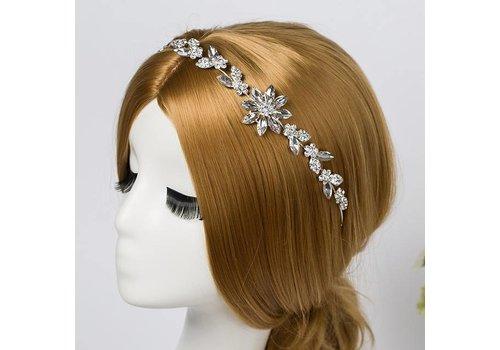 Stijlvol Haar Sieraad met Fonkelende Diamanten
