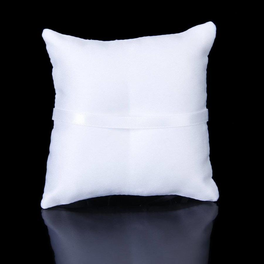 Ringkussen Wit met Fonkelende Hartjes-2