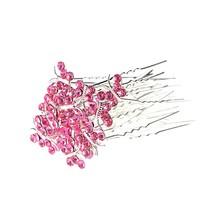thumb-Hairpins – Butterfly - Licht Roze - 5 stuks-2