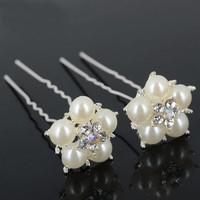 thumb-Hairpins - Flower- Ivoor - 2 stuks-5
