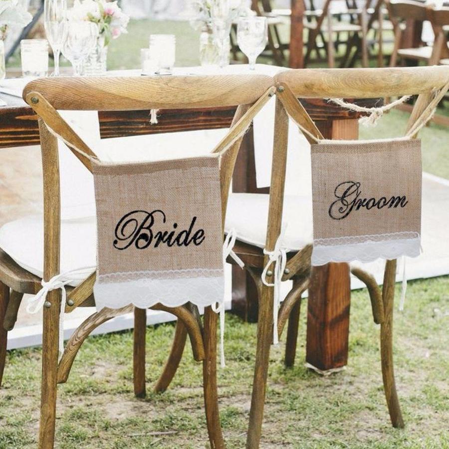 Bride & Groom Slinger - Bruiloft Decoratie-2