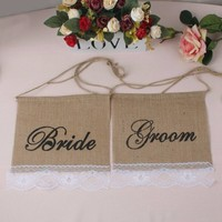 thumb-Bride & Groom Slinger - Bruiloft Decoratie-3