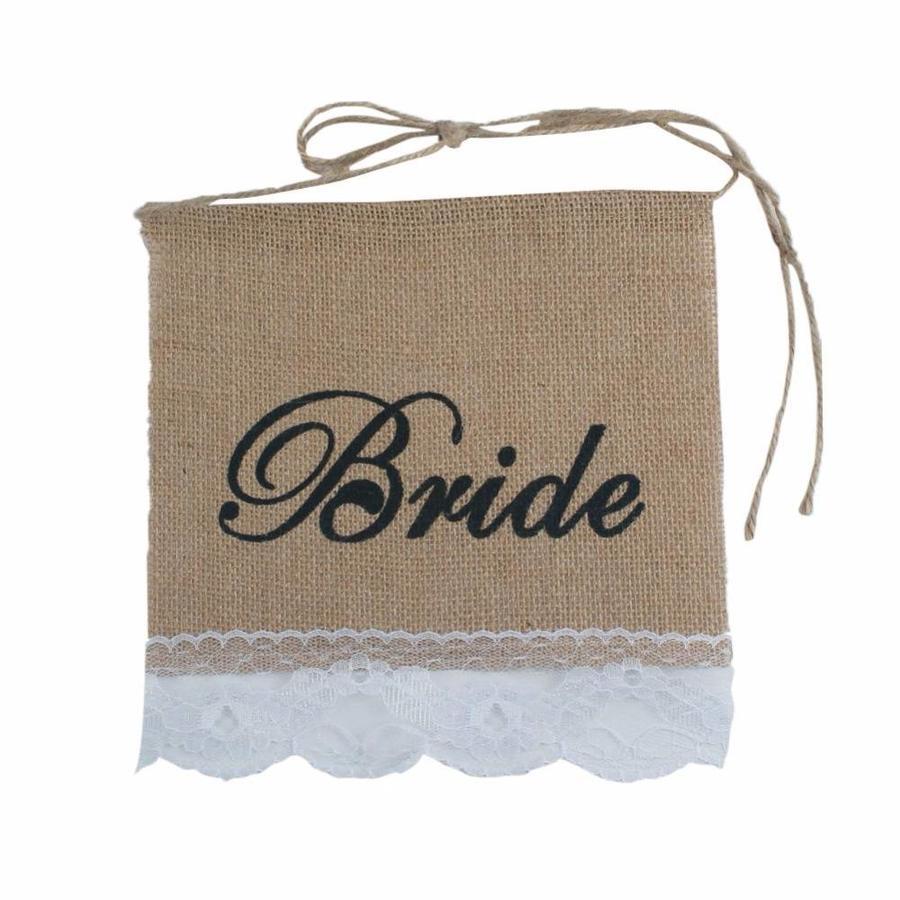 Bride & Groom Slinger - Bruiloft Decoratie-4
