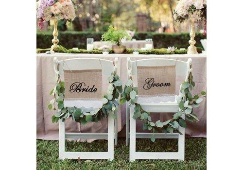 Bride & Groom Slinger - Bruiloft Decoratie