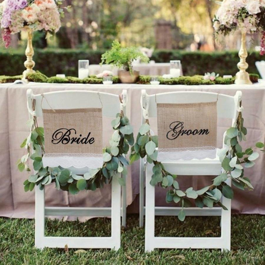 Bride & Groom Slinger - Bruiloft Decoratie-1