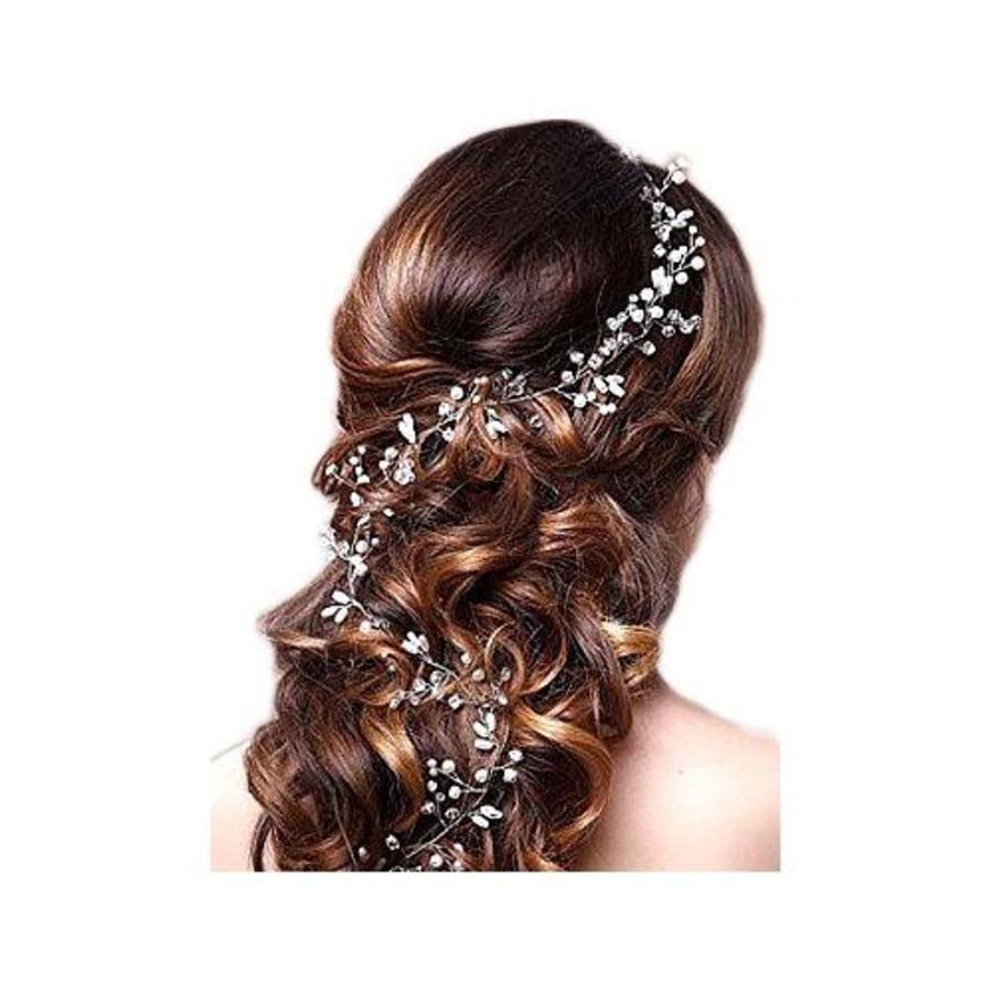 Stijlvol Zilverkleurig Haar Sieraad-10