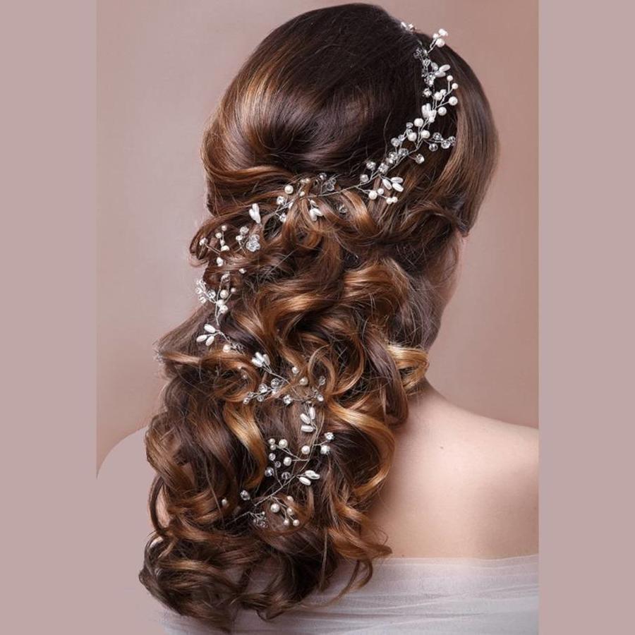 Stijlvol Zilverkleurig Haar Sieraad-5