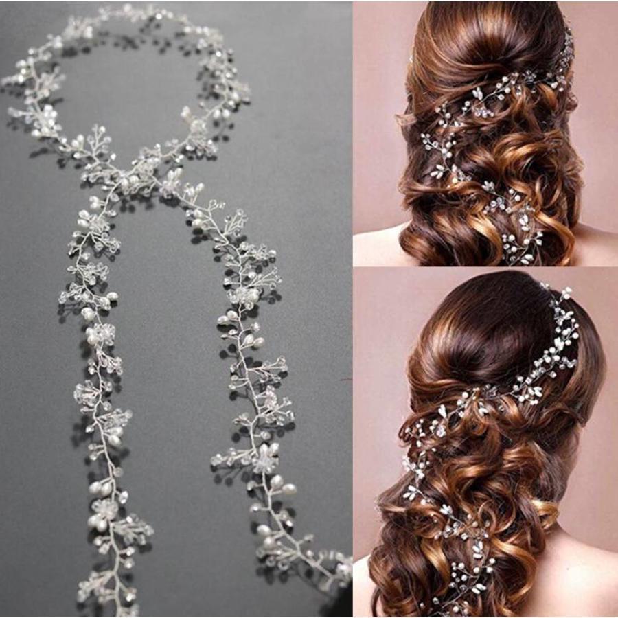 Stijlvol Zilverkleurig Haar Sieraad-7