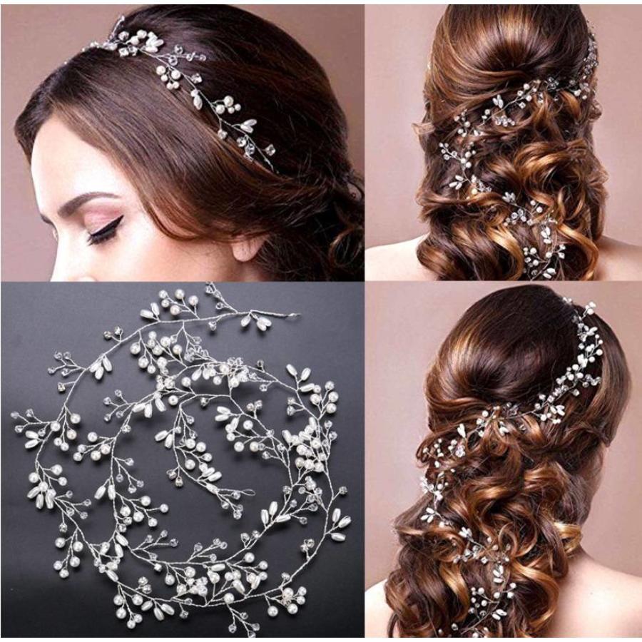 Stijlvol Zilverkleurig Haar Sieraad-2