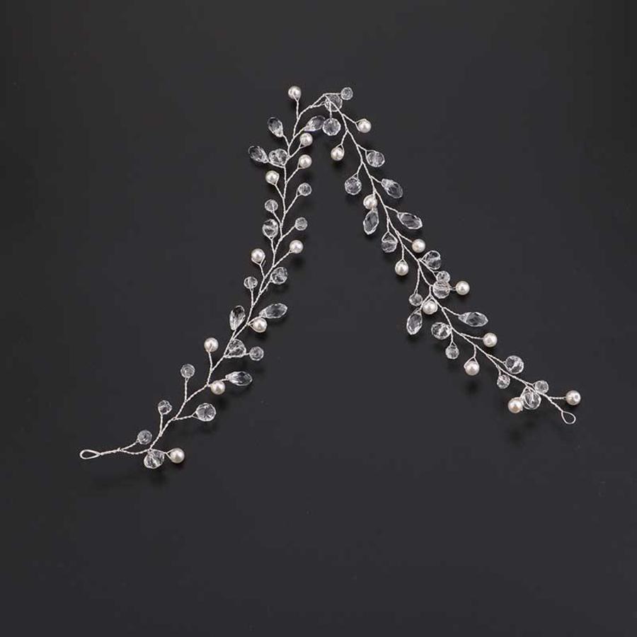 Elegant Zilverkleurig Haar Sieraad-5