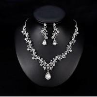thumb-PaCaZa - Sieraden Set Diamond (Ketting & Oorbellen)-4