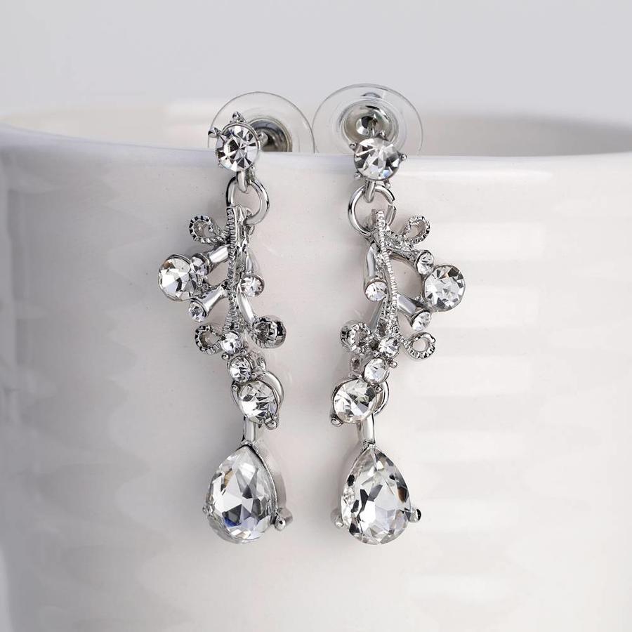 PaCaZa - Sieraden Set Diamond (Ketting & Oorbellen)-5