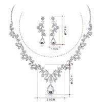 thumb-PaCaZa - Sieraden Set Diamond (Ketting & Oorbellen)-2