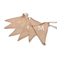 thumb-Mr & Mrs Jute Slinger - Bruiloft Decoratie-3
