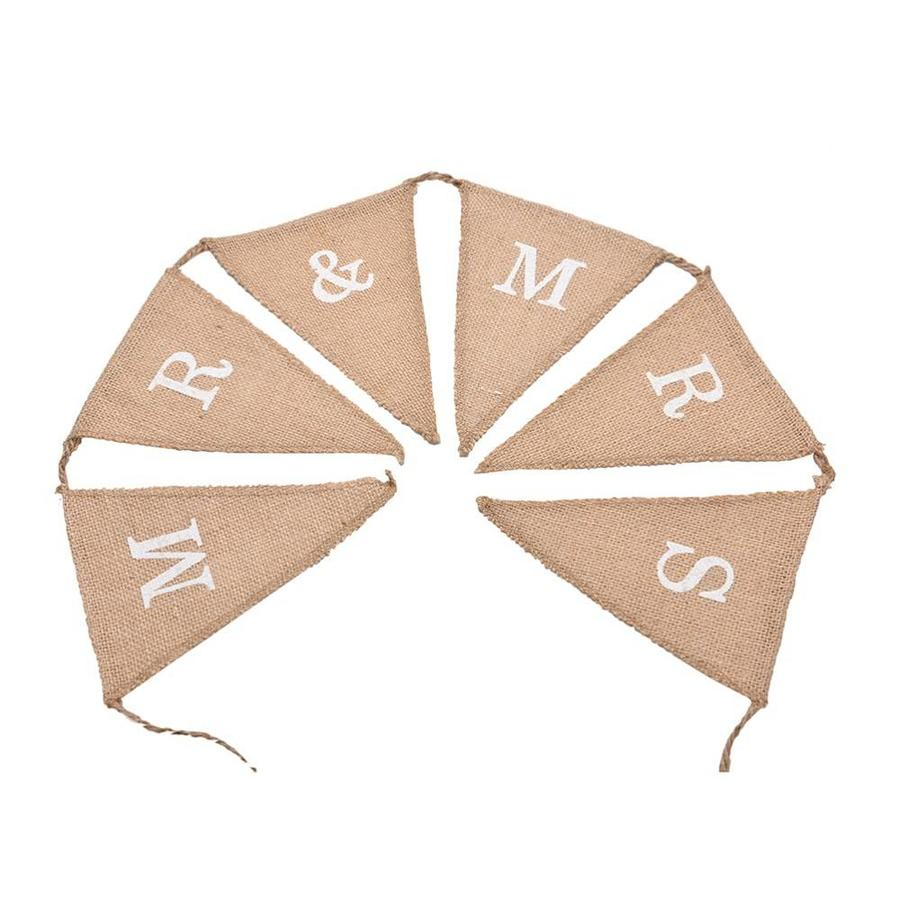 Mr & Mrs Jute Slinger - Bruiloft Decoratie-4