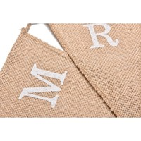 thumb-Mr & Mrs Jute Slinger - Bruiloft Decoratie-6