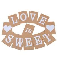 thumb-LOVE IS SWEET Slinger - Bruiloft Decoratie-1