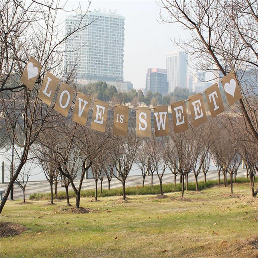 LOVE IS SWEET Slinger - Bruiloft Decoratie-2