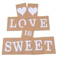 thumb-LOVE IS SWEET Slinger - Bruiloft Decoratie-3