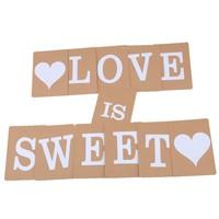 thumb-LOVE IS SWEET Slinger - Bruiloft Decoratie-5
