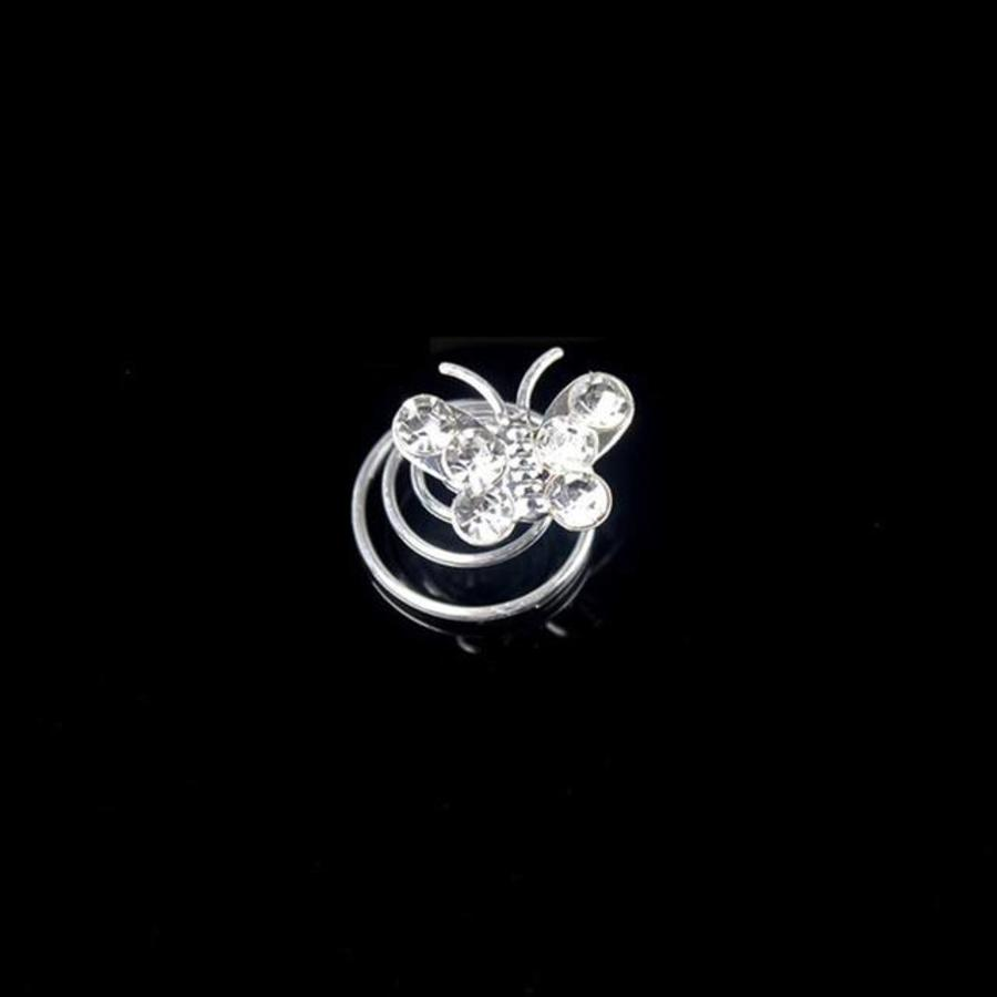 Schattige Curlies - Vlinder - 6 stuks-1