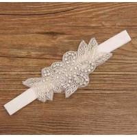 thumb-Haar Sieraad / Haarband met Fonkelende Kristallen-2