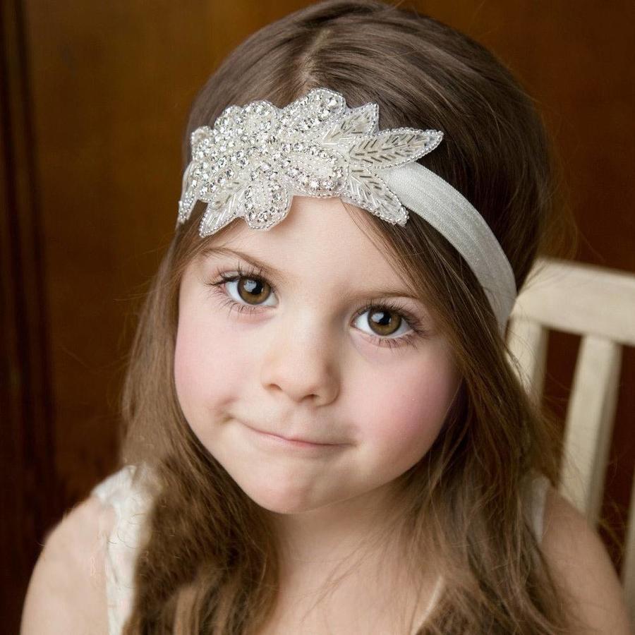 Haar Sieraad / Haarband met Fonkelende Kristallen-5