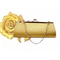thumb-Bruidstasje Glimmend Goud - Clutch-2