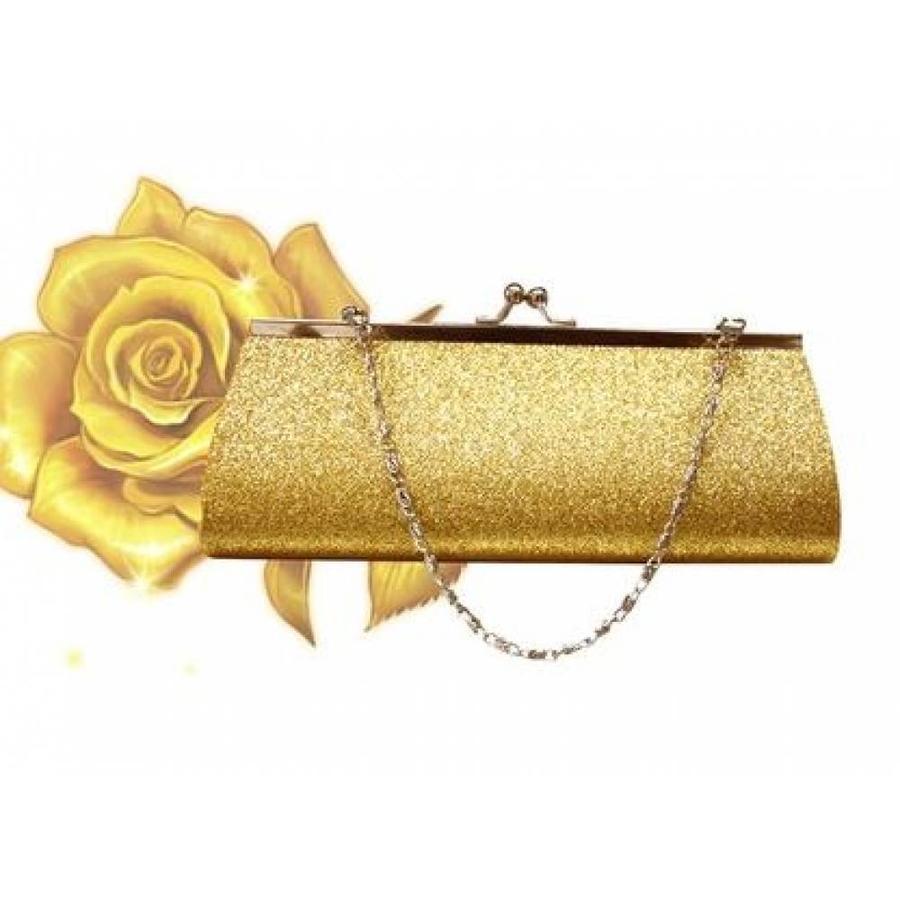 Bruidstasje Glimmend Goud - Clutch-2