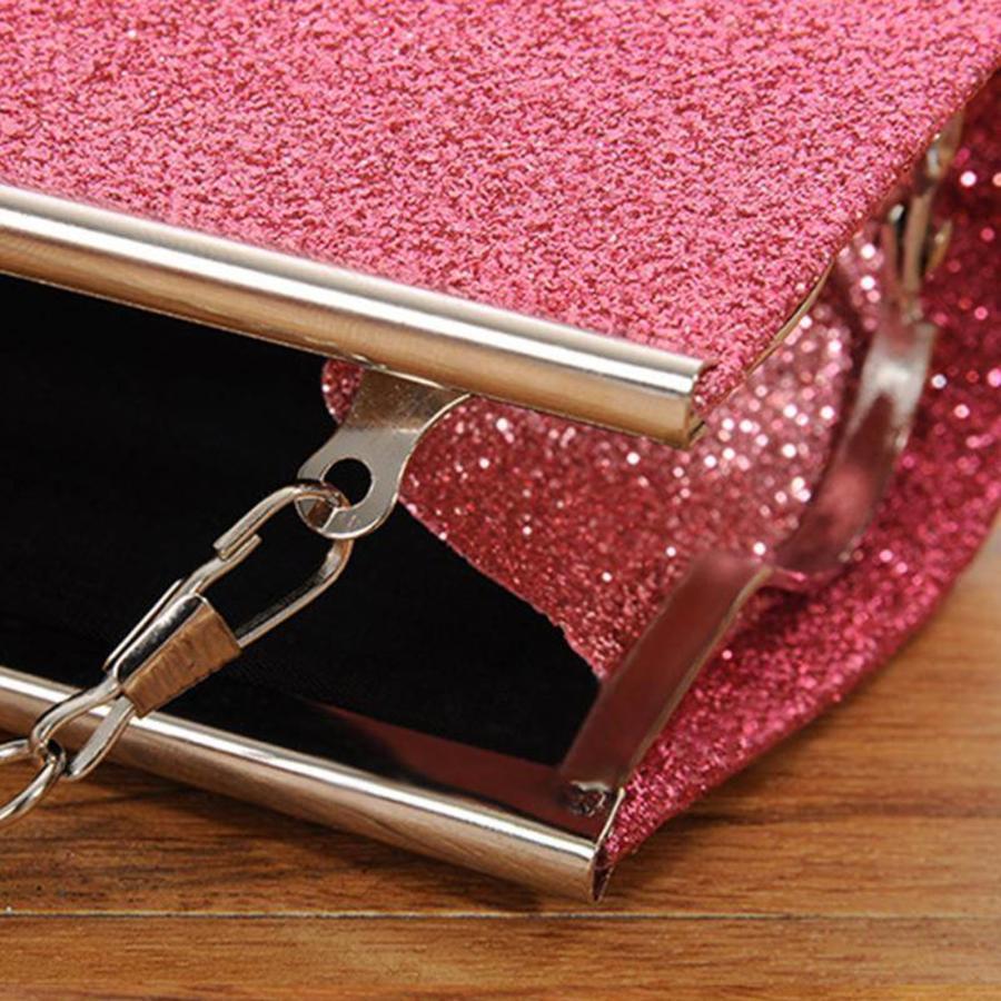 Bruidstasje Glimmend Roze - Clutch-5