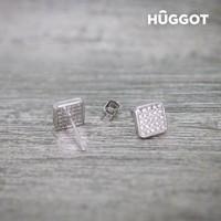 thumb-HÛGGOT -  Rania - 925 Sterling Zilveren Oorbellen met Zirkonen-3