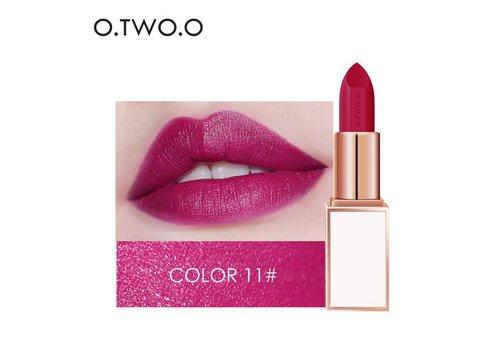 Ultra-Rich Lip Color - Semi Velvet Liquid Lipstick - Waterproof - Color 11