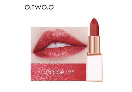 Ultra-Rich Lip Color - Semi Velvet Liquid Lipstick - Waterproof - Color 12