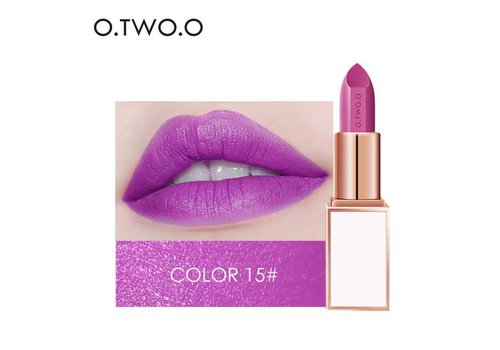 Ultra-Rich Lip Color - Semi Velvet Liquid Lipstick  - Waterproof - Color 15
